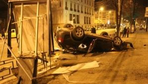 Accident spectaculos la Iaşi