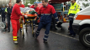 Accident grav în Hunedoara