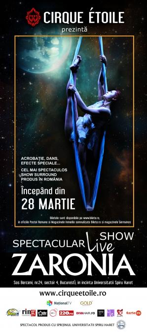 <p>Cirque Etoile vă invită la premiera Zaronia!</p>