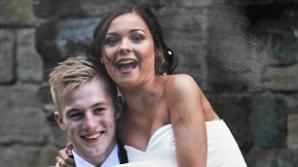 Tânăra s-a căsătorit la 16 ani