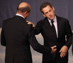 Traian Băsescu şi Nicolas Sarkozy