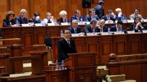 Liderii coaliţiei aflate la guvernare s-au întâlnit la Senat