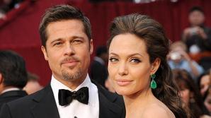 Bradd Pitt și Angelina Jolie