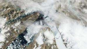 Încălzirea globală a topit ultima regiune stabilă din calota glaciară a Groenlandei