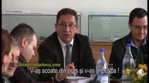 Ameninţările primarului din Bârlad, la o şedinţă de consiliu local
