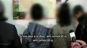 Confesiunea infractorilor minori din Piatra Neamţ.