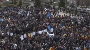 Protest al angajaţilor Dacia