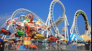 """Roller coaster ca """"balaurul cu şapte capete"""""""