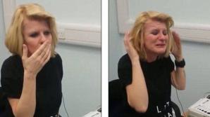 Reacția uimitoare a unei femei care aude pentru prima oară în viața ei