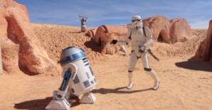 Parodie HAPPY cu personajele din STAR WARS