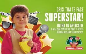 Cris-Tim caută copii simpatici, cu stofă de superstar