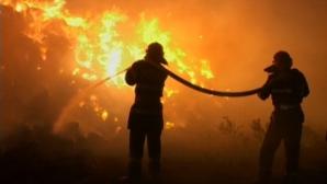 O femeie a murit în urma unui incendiu izbucnit într-un bloc din Capitală