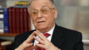 Iliescu: Rusia a întreprins un act de forţă prin anexarea Crimeei şi a încălcat regulile jocului