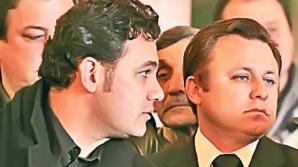 Dragoş Dolănescu, alături de fratele său, Ionuţ