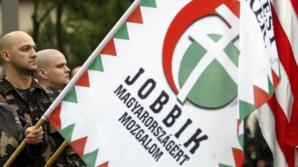 <p>Reprezentanţi şi simpatizanţi ai Jobbik au marcat Ziua Maghiarilor de Pretutindeni în Oradea</p>