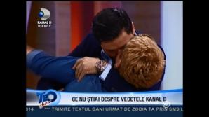 Teo, sărutată în direct de Liviu Vârciu