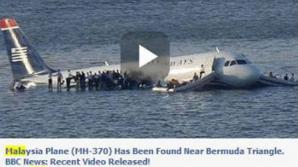 AVIONUL DISPĂRUT. VESTE TRISTĂ privind căutările avionului dispărut