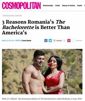 Andreea Mantea şi Burlăciţa, lăudate de presa americană pentru scenele fierbinţi