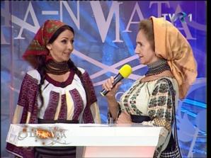 """Mihaela Rădulescu, la emisiunea """"O dată-n viaţă"""""""