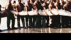 În anul 1973, mai mulţi soldaţi americani au prins pe râul Mekong din Laos un peşte uriaş.