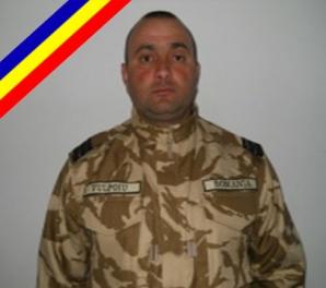 Plutonierul-major Claudiu Constantin Vulpoiu avea 41 de ani