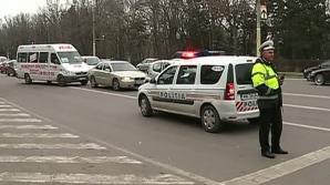 POLIŢIST BEAT, accident pe trecerea de pietoni