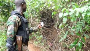 Ce au descoperit polițiștii nigerieni într-o clădire abandonată