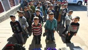 ONU: Aproximativ 5,5 milioane de copii sunt afectaţi de războiul din Siria