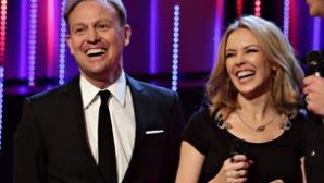 Kylie Minogue şi Jason Donovan au cântat împreună din nou, la 25 de ani de la primul lor duet