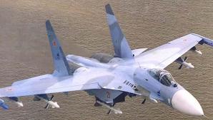 Şase avioaneSU-27, trimise de Moscova în Belarus