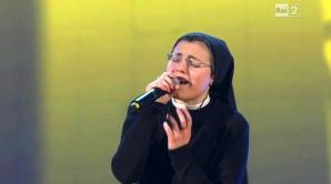 <p>Sora Cristina a făcut furori la Vocea Italiei</p>