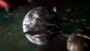Flota de OZN-uri ce se indreaptă spre Terra, filmata de pe Statia Spațiala Internationala?