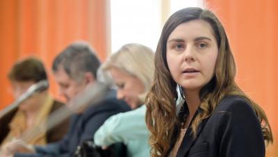 Ioana Petrescu, ministrul Finanţelor în guvernul Ponta III