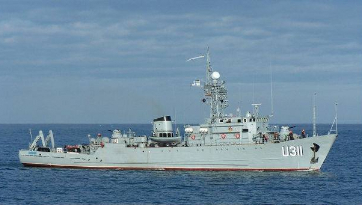Asalt rus asupra ultimei nave ucrainene în Crimeea