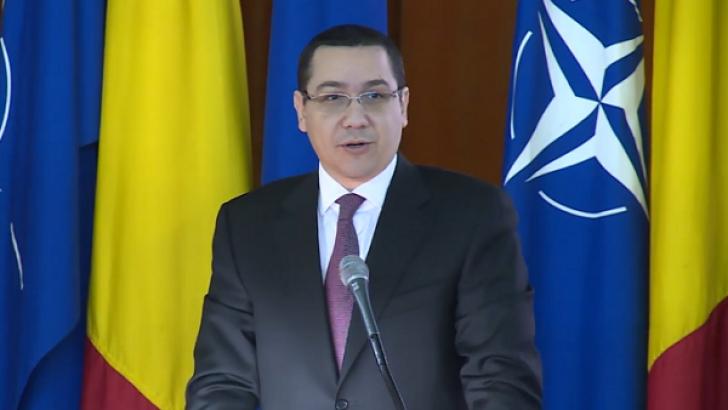 Ponta: Ce s-a întâmplat în Crimeea contrazice regulile dreptului internaţional, trebuie soluţii