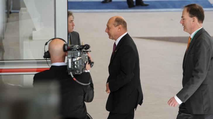 Joe Biden a vorbit la telefon cu Traian Băsescu. Despre ce au discutat cei doi / Foto: presidency.ro