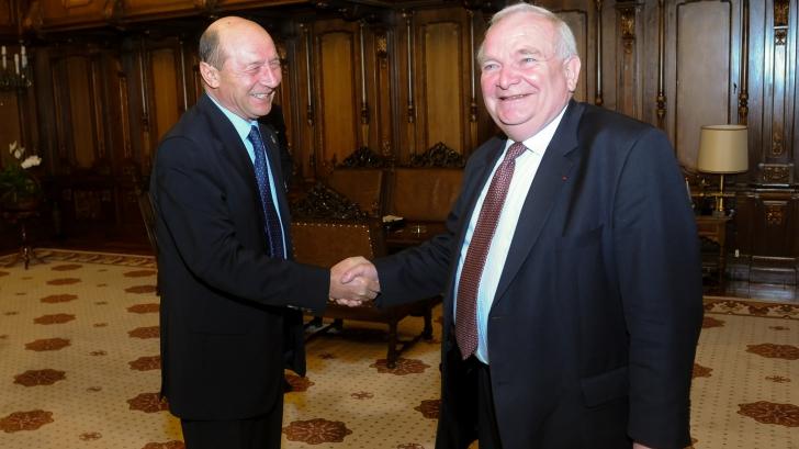 Traian Băsescu l-a primit pe şeful PPE, Joseph Daul