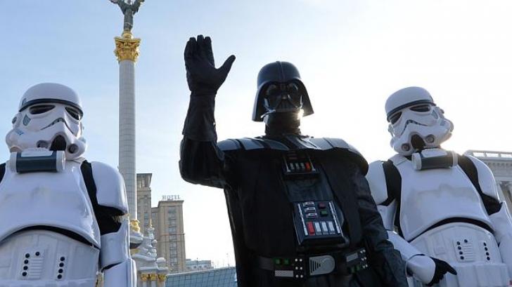 Darth Vader, personajul din Războiul Stelelor, printre candidaţii la prezidenţialele din Ucraina