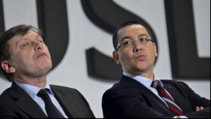 Crin Antonescu îl atacă din nou pe Victor Ponta