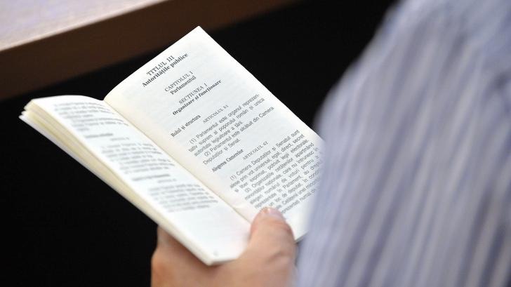 Comisia de la Veneţia: Proiectul de revizuire a Constituţiei necesită multe îmbunătăţiri / Foto: MEDIAFAX