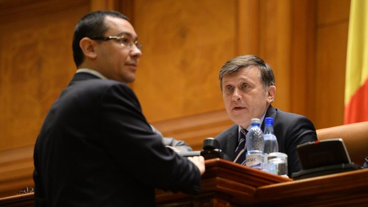 Antonescu, despre refacerea USL: Ar fi caraghios! Nimeni nu va face din PNL un vasal al PSD-ului / Foto: MEDIAFAX
