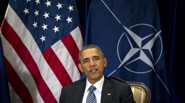 Barack Obama a anunţat la Bruxelles că statele NATO nu sunt singure în faţa unei posibile ameninţări a Rusiei