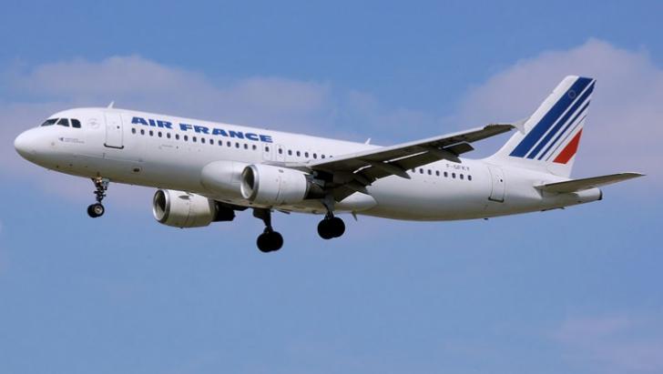 Avion AIR FRANCE, cu 495 de pasageri la bord, aterizare de urgenţă în Germania