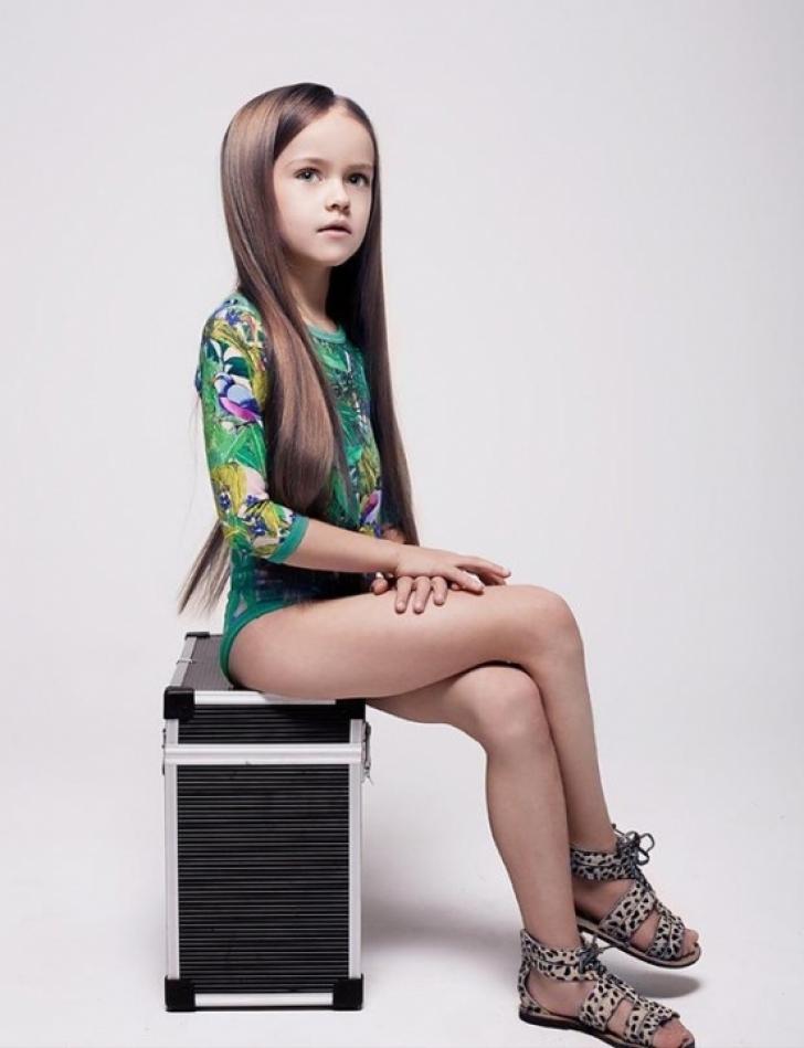 Are numai opt ani, dar a cucerit lumea modei