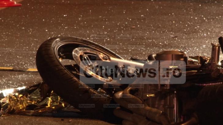 Accident cumplit de motocicletă la Cluj-Napoca