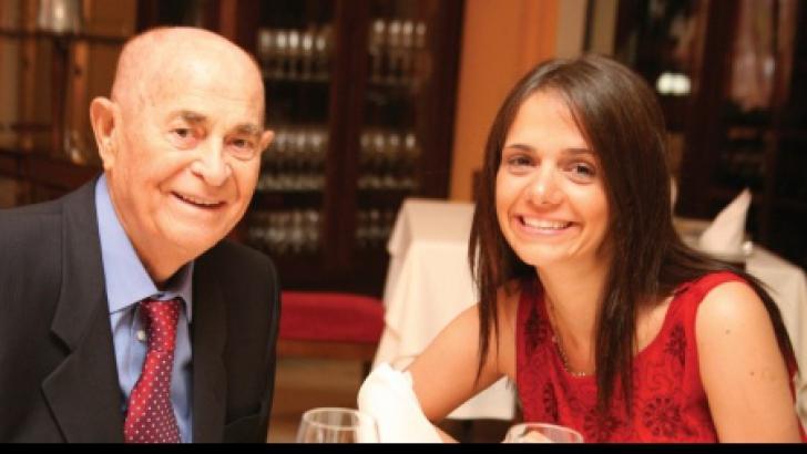 Veronica Drăgan, împreună cu soţul Iosif Constantin Drăgan