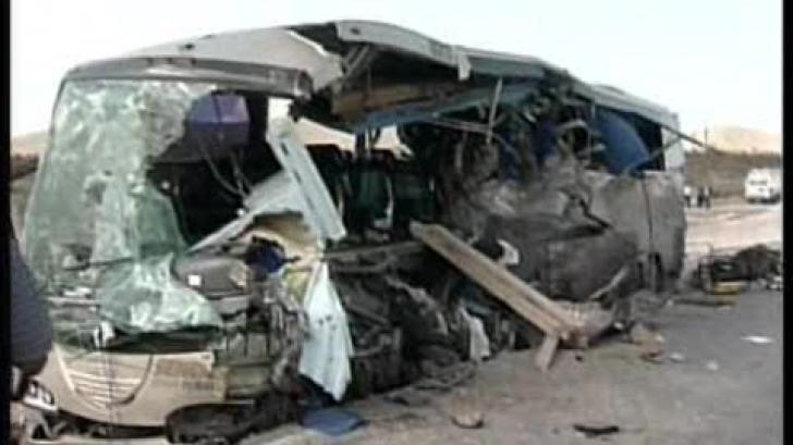Groaznic accident de autobuz în Thailanda. (Imagine de arhivă)
