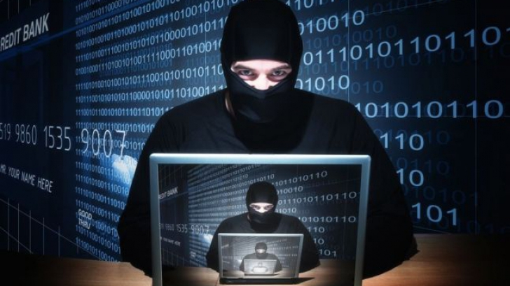 Atacuri cibernetice - imagine cu notă sugestivă