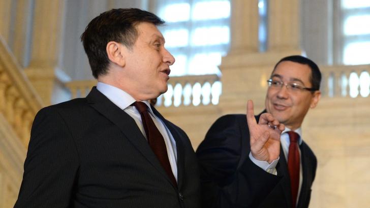 Ponta: USL poate fi refăcută doar dacă Antonescu pleacă de la conducerea PNL