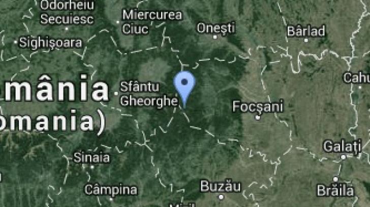 CUTREMUR PUTERNIC în România în această seară